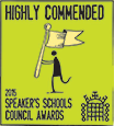 Speakers Schools Highly Commended Logo
